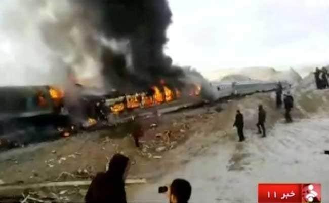 ईरान में ट्रेनों में टक्कर, दुर्घटना में 31 लोगों की मौत