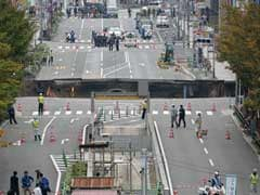 Japan Street Swallowed By Giant Hole Reopens After A Week