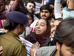 JNU Missing Student Case: Police Stops Students From Marching To Parliament