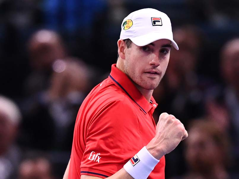 John Isner Outlasts Jack Sock to Make Paris Masters Semi-Finals