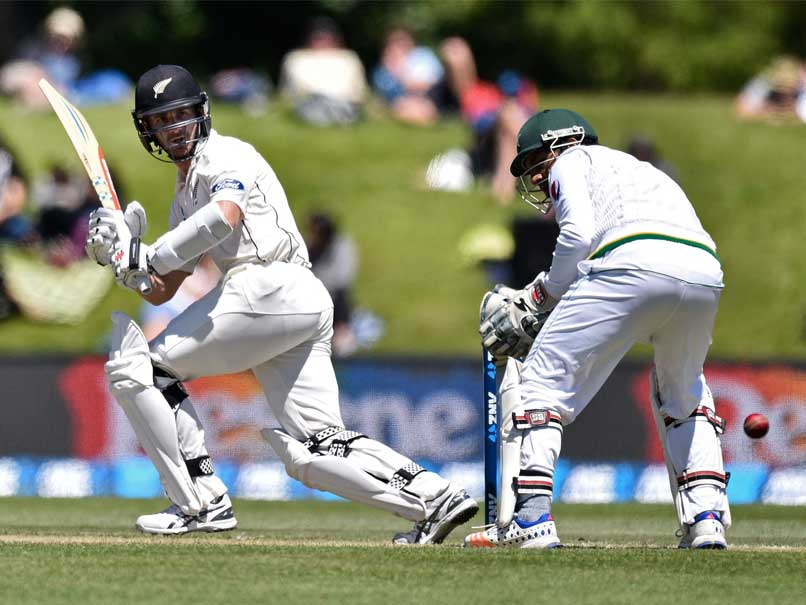 Kane Williamson's Half-century Helps New Zealand Thrash Pakistan in First Test