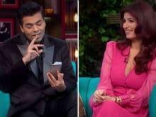 Twinkle Khanna, Karan Johar: Who's to Blame For That 'Dangerous' <I>Koffee</i>?