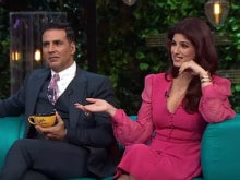 Twinkle Khanna, Uncensored, on <I>Koffee With Karan</i>. Akshay Kumar Blushes