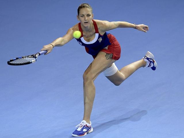 Karolina Pliskova, Simona Halep Lead Five-Woman Fight For No 1