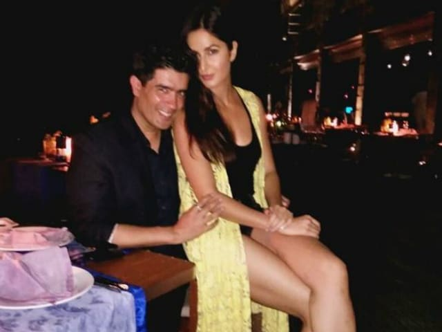 Katrina Kaif, Manish Malhotra Are Having A Lot of Fun In Maldives. See Pics