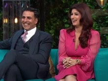 <I>Koffee With Karan</i>: Twinkle Khanna, Akshay Kumar's Episode is a Laugh Riot