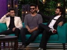 <I>Koffee With Karan 5</i>: Ranveer Singh, Ranbir Kapoor and Arjun, a Bromance in 6 GIFs