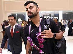 Indian Cricket Team Arrives in Rajkot For First Test vs England