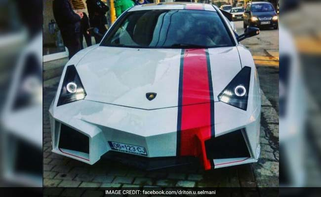 Kosovan Sports Car Enthusiast Builds A Lamborghini Replica