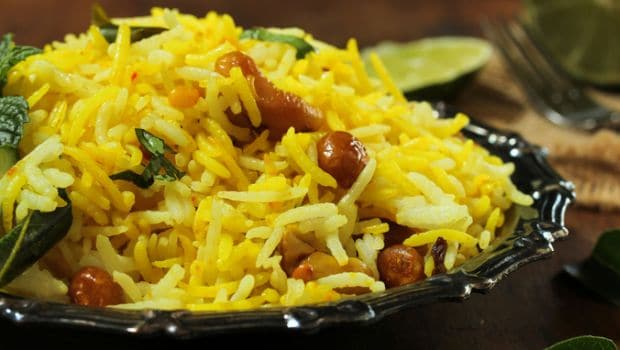 How To Make Lemon Rice - A Wholesome And Yummy Dish From South India