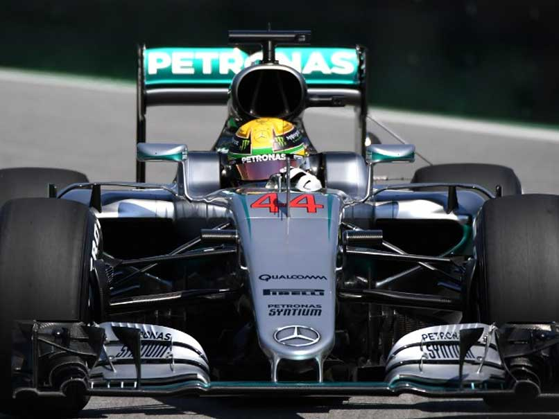 Lewis Hamilton Fastest in Both Practices in Brazil, Edges Nico Rosberg