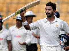 INDvsENG 5th Test : लोकेश राहुल 1 रन से दोहरा शतक चूके, करुण नायर 71*, टीम इंडिया- 391/4