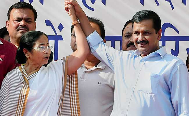 """Vote For Aam Aadmi Party"": Trinamool Congress On Delhi Elections"