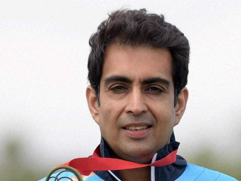 Manavjit Singh Sandhu Wins Men's Trap Gold at National Shooting Championship