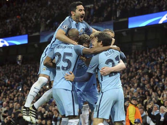 UEFA Champions League: Manchester City Stun Barcelona as Arsenal Progress