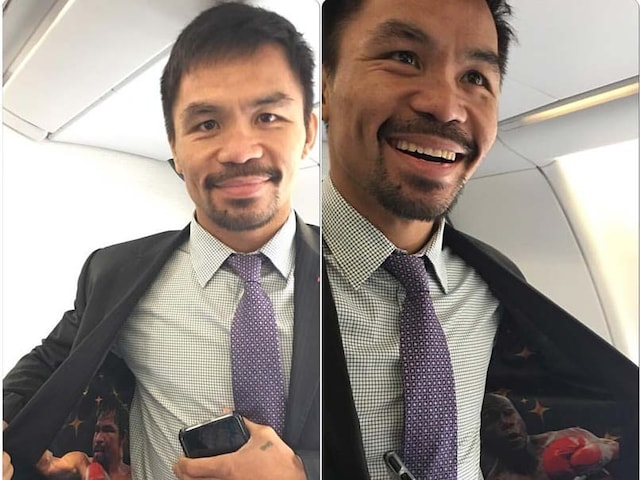 Manny Pacquiao Teases Floyd Mayweather Rematch