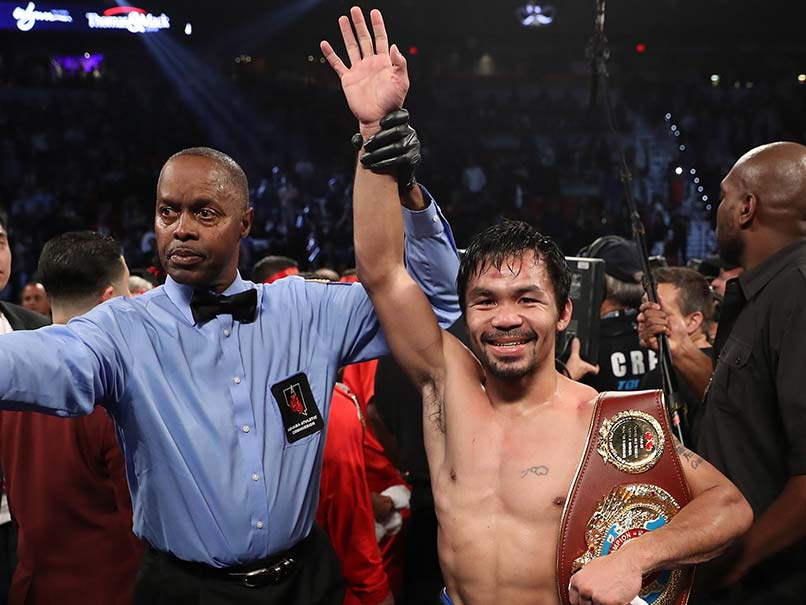 Manny Pacquiao Has Unfinished Business Against Floyd Mayweather