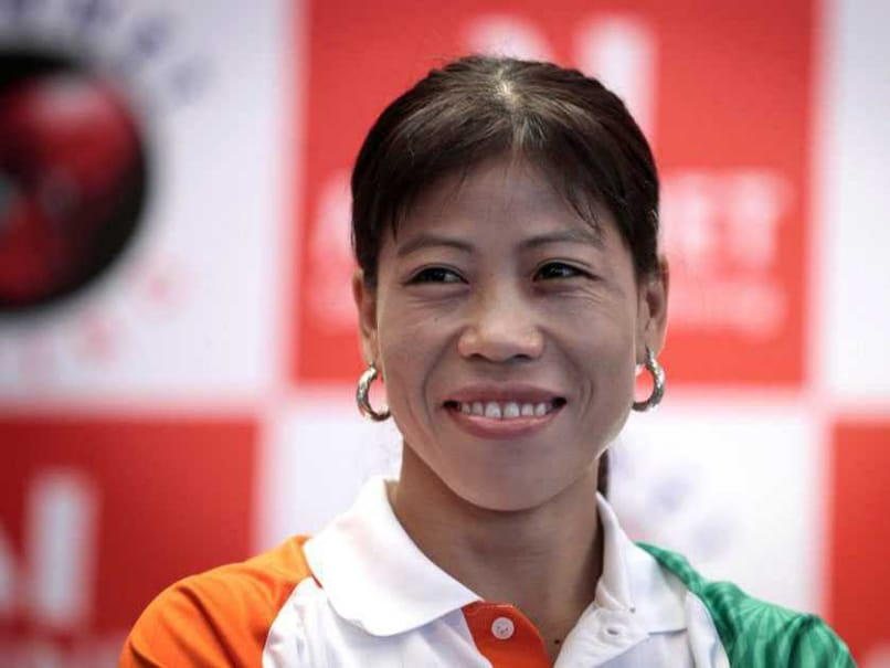 MC Mary Kom to Receive