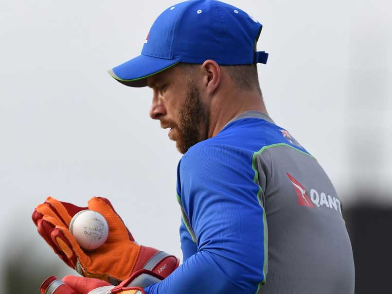 Colour-blind Australian Wicketkeeper Matthew Wade Ready For Pink Ball Test