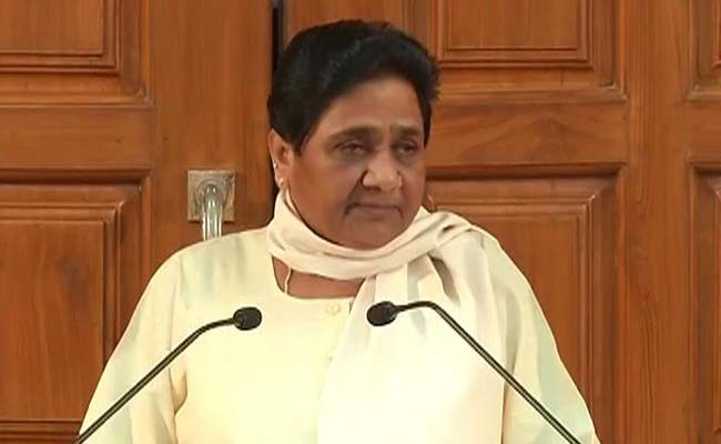Mayawati Hits Back At PM Modi For Blaming Opposition For Parliament Blockade