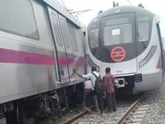 दिल्ली मेट्रो हादसा : आमने-सामने टकराई दो ट्रेनें, कोई हताहत नहीं