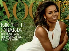 Michelle Obama's Vogue Cover Is More Celebrity Glamour Than Pearl-Wearing First Lady