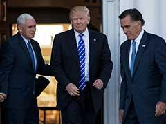 Battle Surrounds Donald Trump's Secretary Of State Pick
