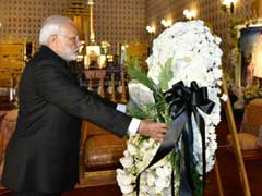 PM Narendra Modi Makes Stopover In Thailand To Pay Respects To Late King