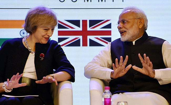 Theresa May Invokes Post-Brexit Trade With India To Win Votes