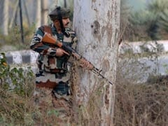 Silencer-Fitted Weapon Used In Attack On Army Camp In Nagrota