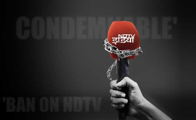 NDTV India Ban Put On Hold By Government