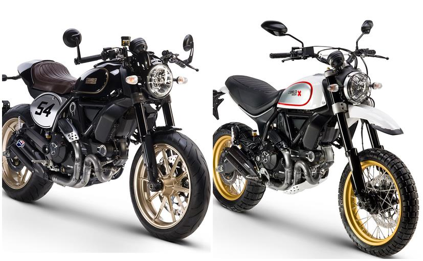 Eicma 2016 Ducati Scrambler Cafe Racer And Desert Sled Revealed