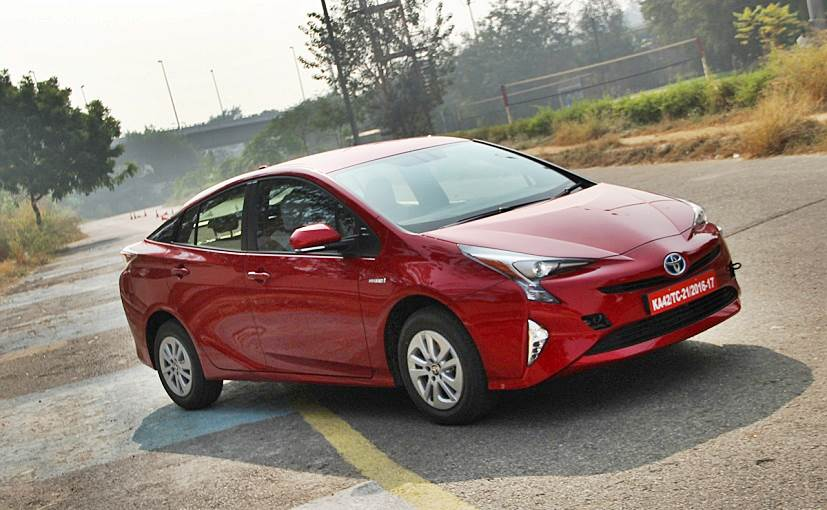 new gen toyota prius hybrid previewed in india to be launched in 2017