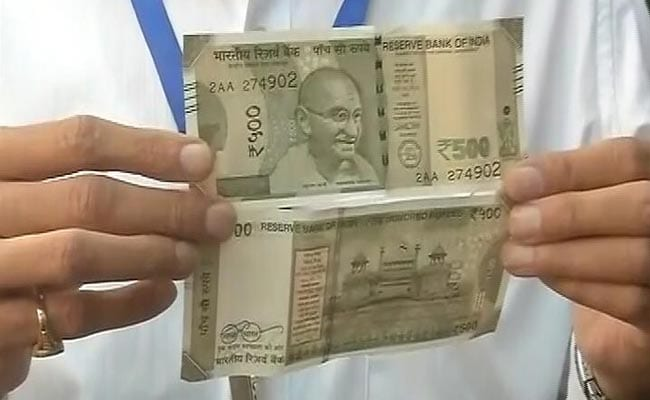 New Rs 500 Notes To Have Inset Letter 'A', Says RBI