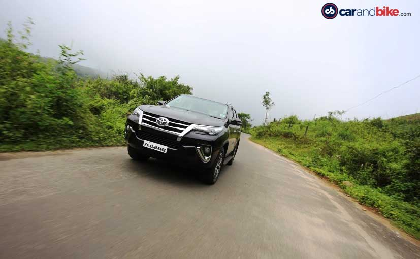 New Toyota Fortuner Side