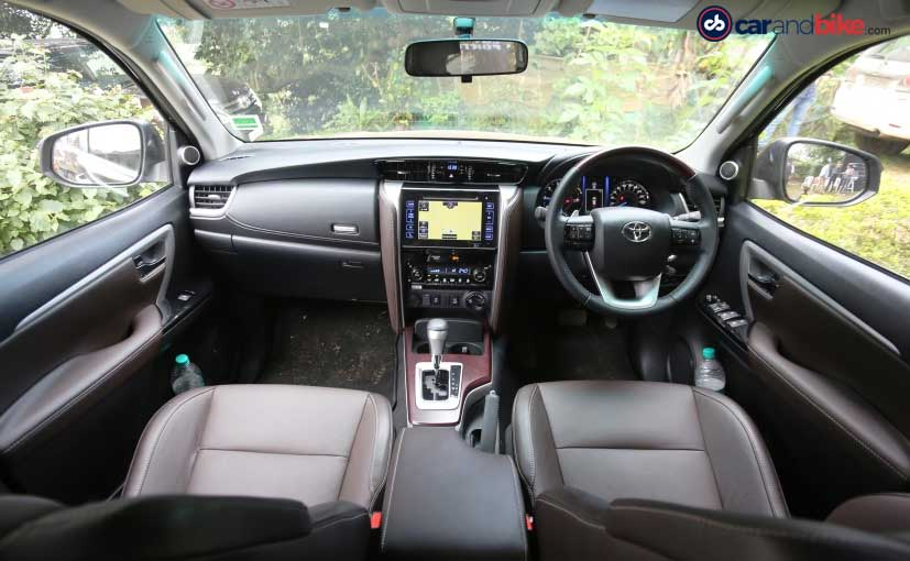 New Toyota Fortuner Cabin