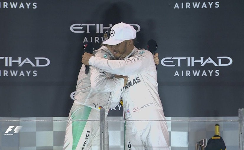 Nico And Lewis Jenson Button F1 Abu Dhabi GP