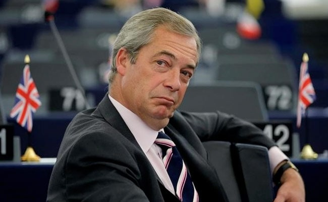 Won't Contest Seats Conservatives Won In Last UK Election: Nigel Farage