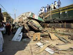 19 Killed, 50 Injured As Trains Collide In Pakistan's Karachi