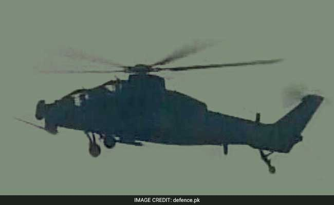 In Pak Army Drill, China Attack Choppers Make Big And First Appearance