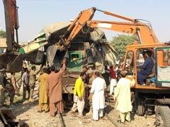 At Least 11 Killed In Train Collision In Pakistan's Karachi