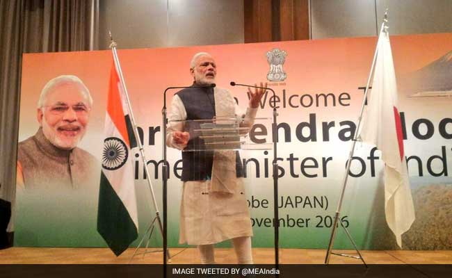 India One Of The Fastest Growing Economies, Says PM Modi In Japan
