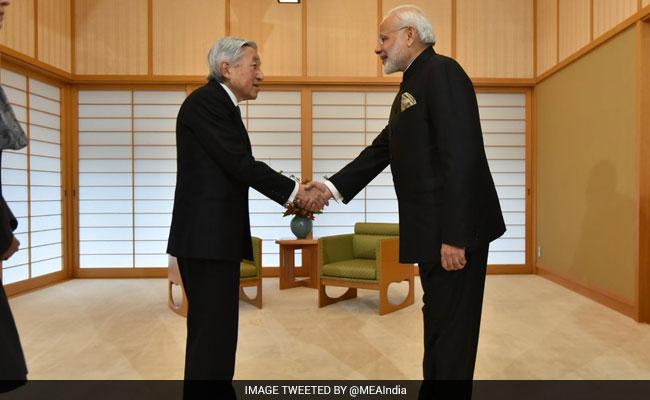 पीएम नरेंद्र मोदी ने जापान के सम्राट से मुलाकात की, एशिया के भविष्य पर की चर्चा