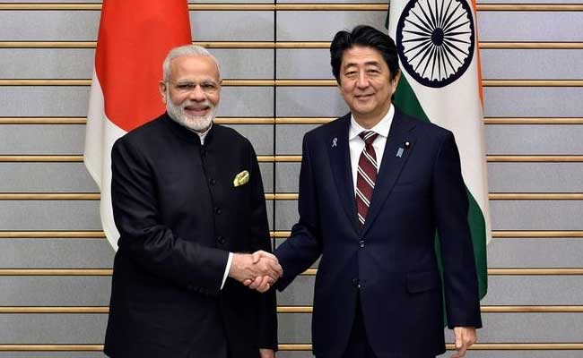 PM Narendra Modi, Japan PM Shinzo Abe on a two day trip to Gujarat