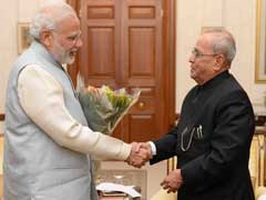PM Narendra Modi Meets President Pranab Mukherjee Amid Currency Ban Chaos