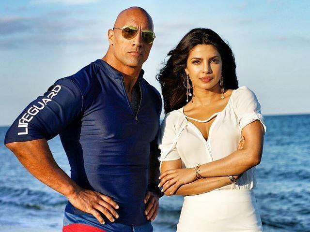 Priyanka Chopra and Dwayne Johnson, Overheard on Twitter