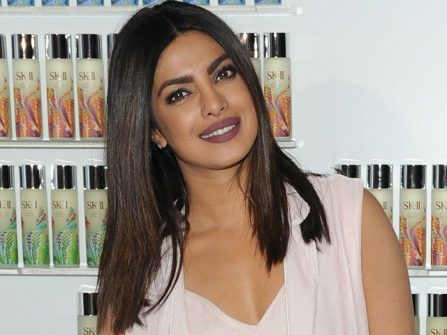 Priyanka Chopra is Used to Being The 'Face on a Poster'