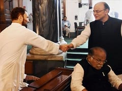 """Will Remember His Presence"": Rahul Gandhi Writes To Arun Jaitley's Wife"