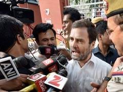 'Have You No Shame,' Rahul Gandhi Asks Cops In Row Over Veteran