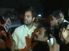 Rahul Gandhi Detained By Police From OROP Protest Site At Jantar Mantar